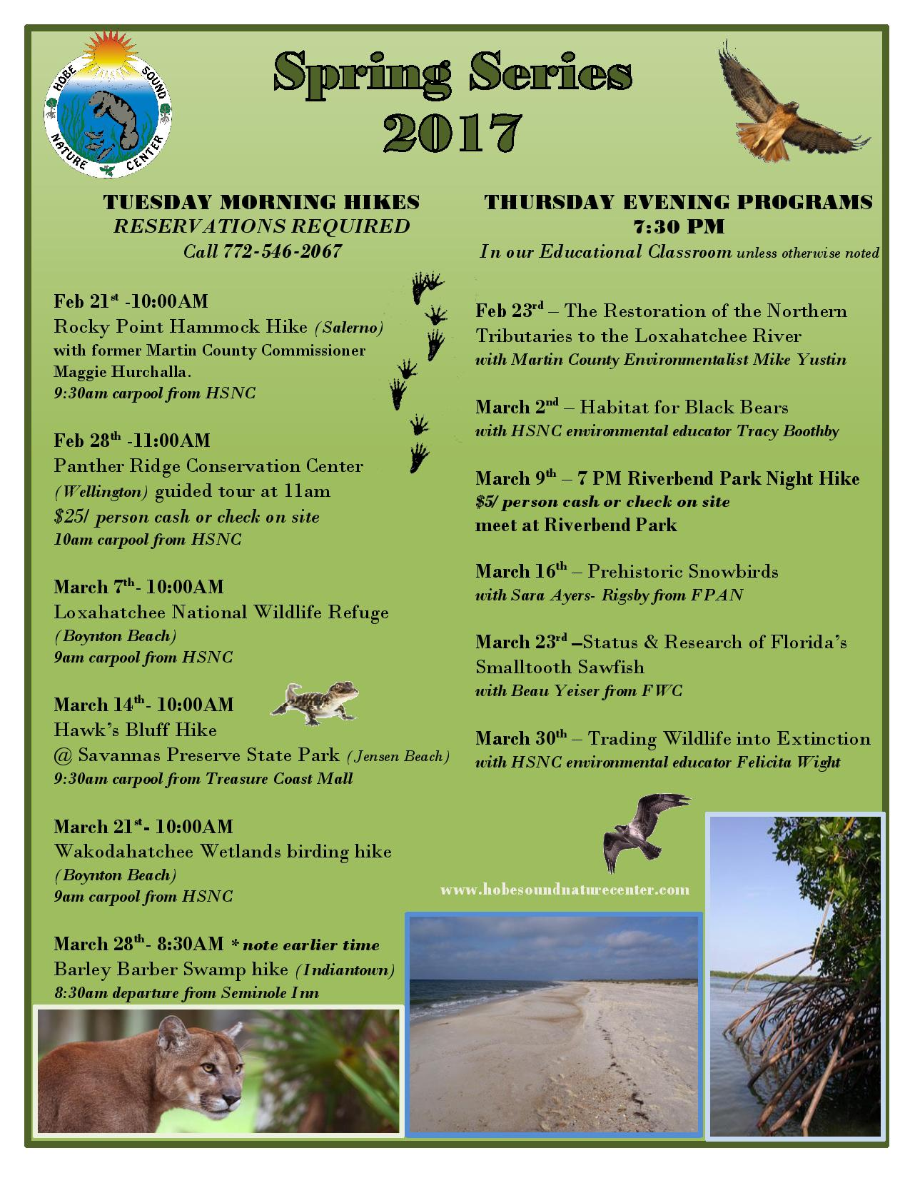 Hobe Sound Nature Center Spring Series