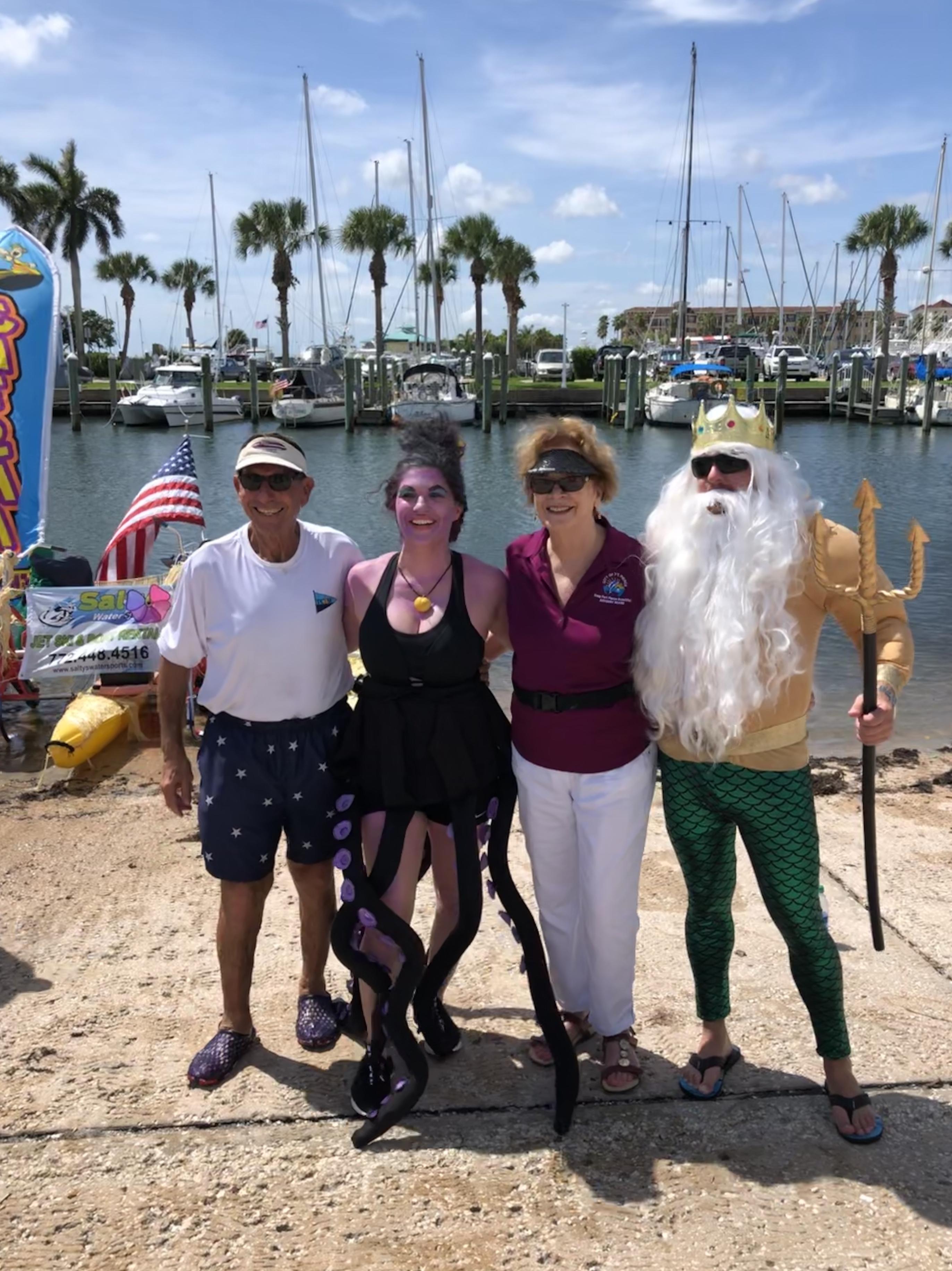 Derecktor Ft  Pierce Wins Top Honors at TCYSF River Raft Regatta