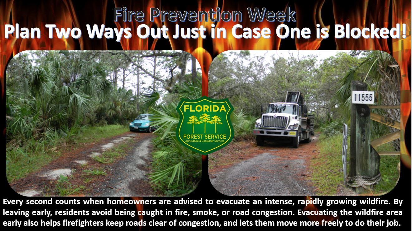 Plan 2 Ways Out Fire Prevention
