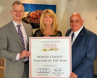 Martin County Teacher of the Year Selected at Fun-Filled Event