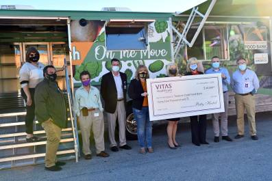 VITAS Healthcare Doubles Financial Support of TC Food Bank