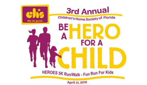 Local youth impacted by Children's Home Society to open race on April 21