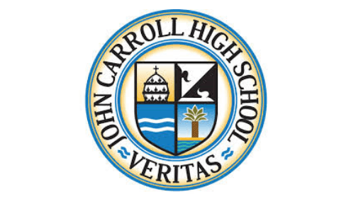 JOHN CARROLL HIGH SCHOOL CLASS OF 2019 DONATES RAM STATUE