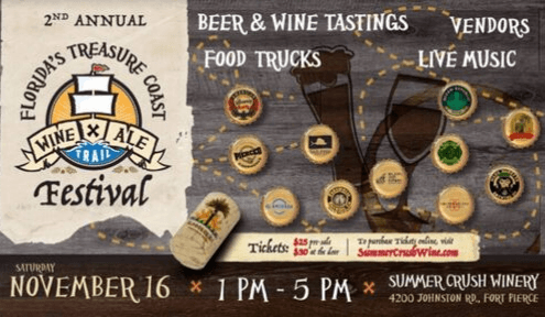 2019 2nd Annual Treasure Coast Wine & Ale Trail Festival