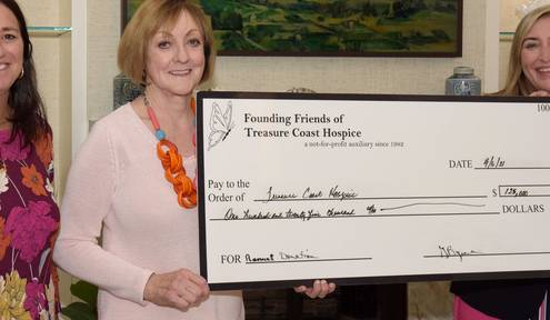 Founding Friends of TC Hospice support Grief Programs