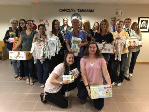 April Showers Baby Shower Rains Gifts for Martin County Families